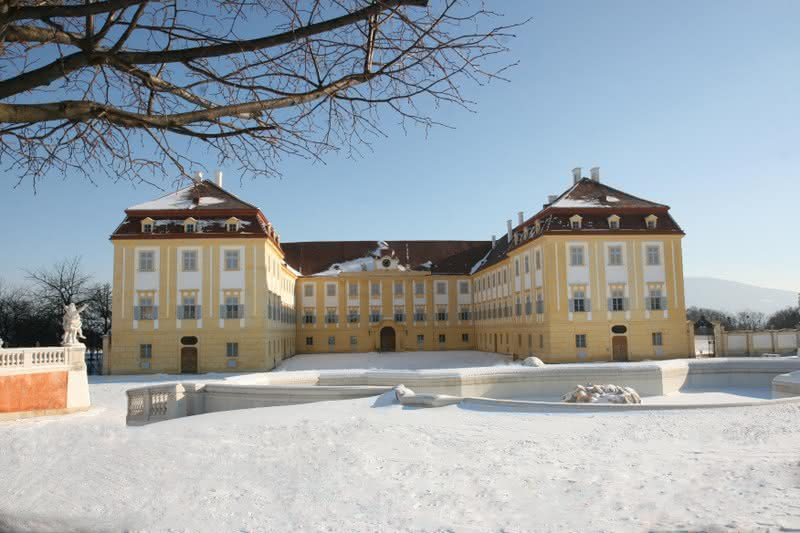 Advent Schloss Hofban